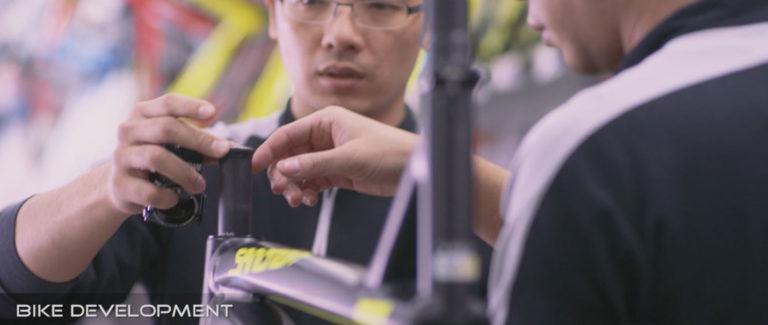 FJ bike assembly and development