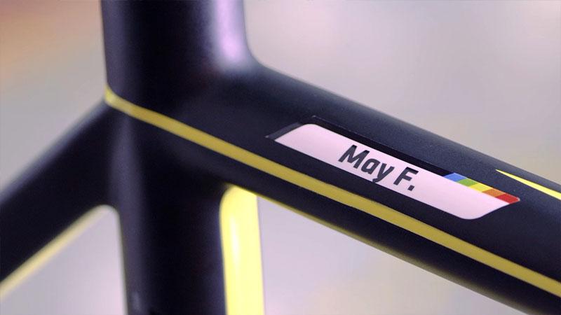 Customise your bike indentity