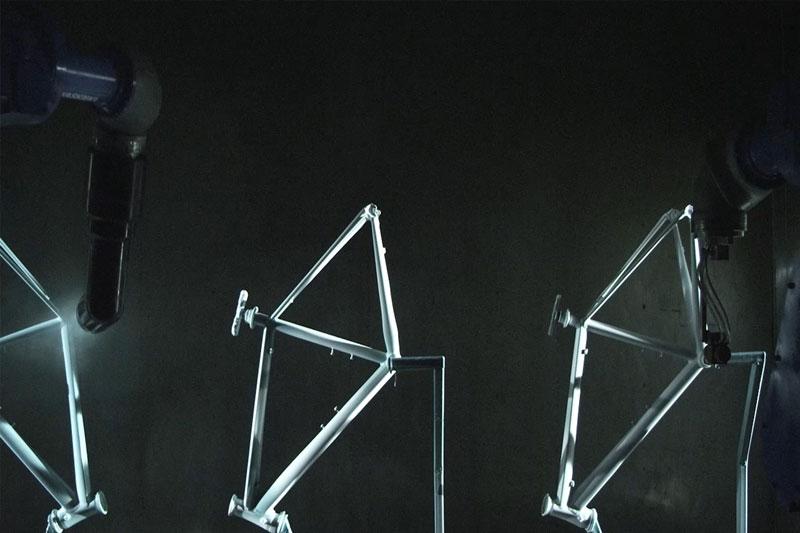 Fj Bike - Smart Bike Assembly Solutions - Frame Painting Process