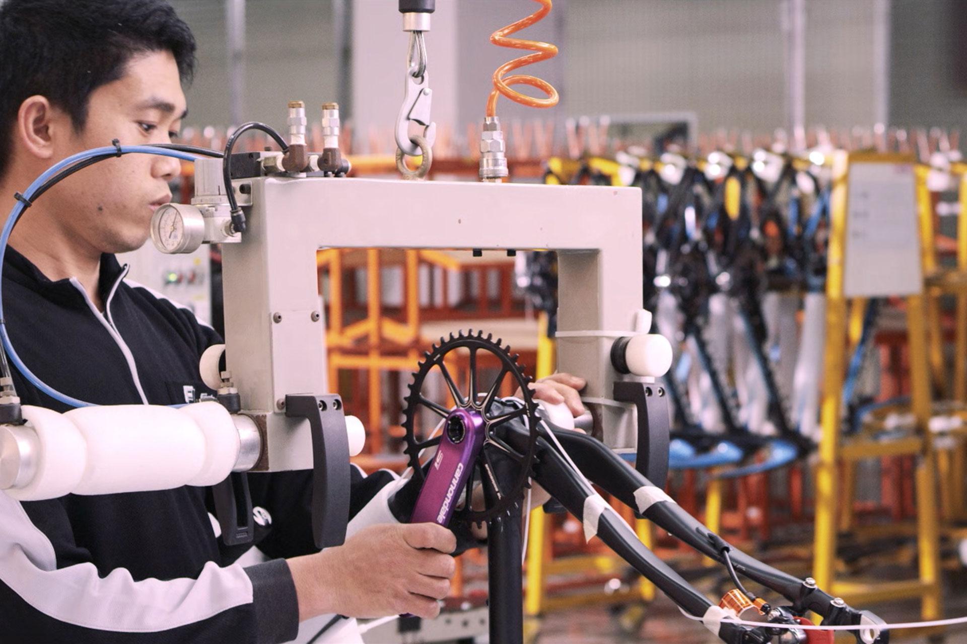 Fj Bike - Smart Bike Assembly Solutions - Rapid time to Market Taiwan