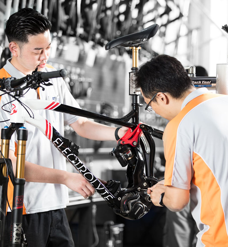 Fj Bike - Global Bike Assembly Solutions Quality Inspection