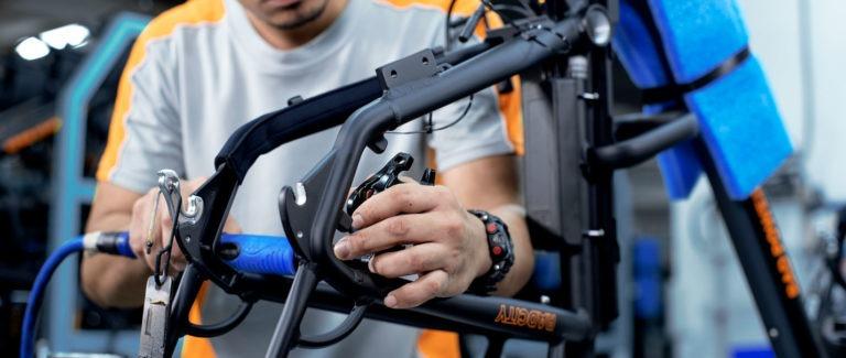 E-bike component assembly