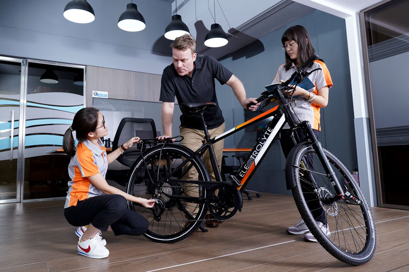FJM E-bike Team Strategy Development Cycle Prototyping and Production